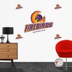 Firebirds Logo Decal set