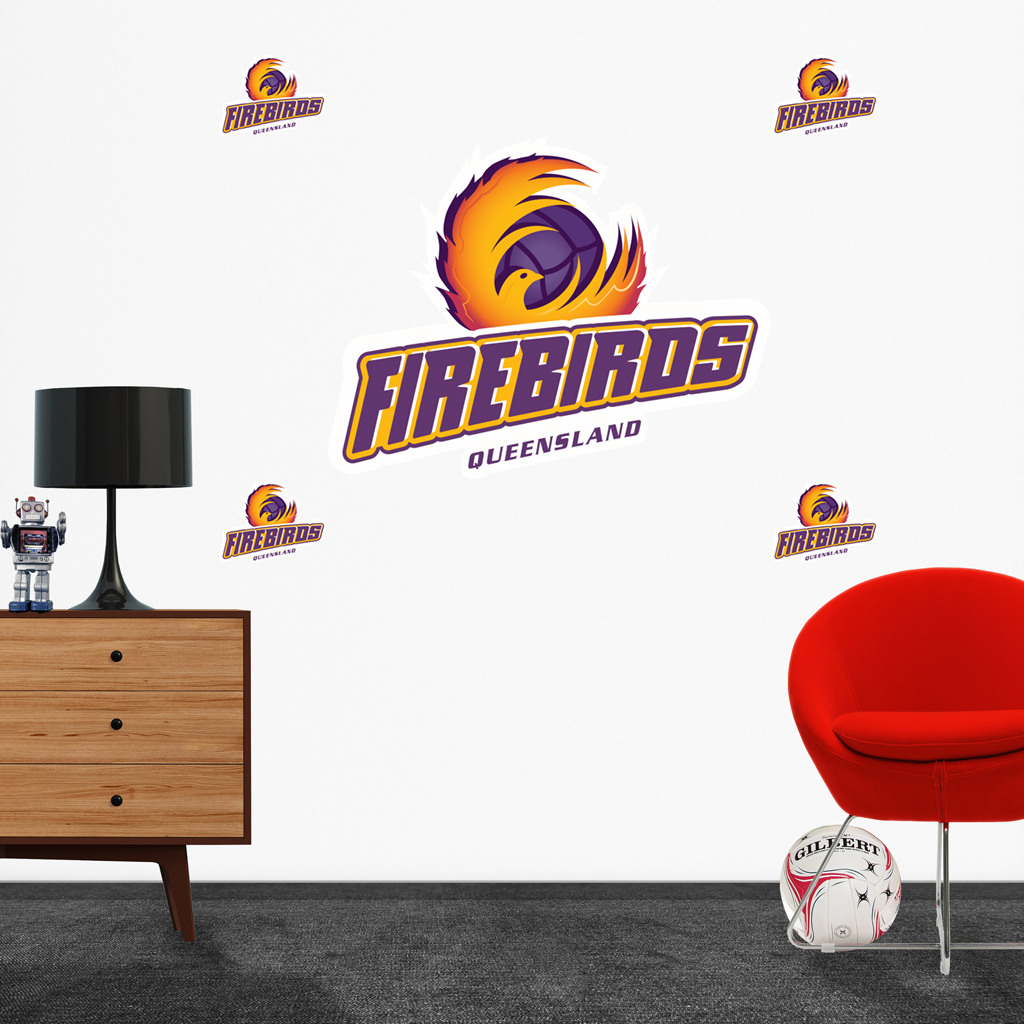 Firebirds Logo Decal set