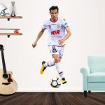 Isaias Sanchez Cortes playing Football for Adelaide United Popout decal