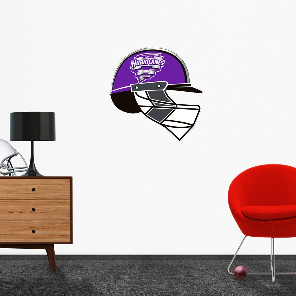 Hobart Hurricanes Helmet Popout decal