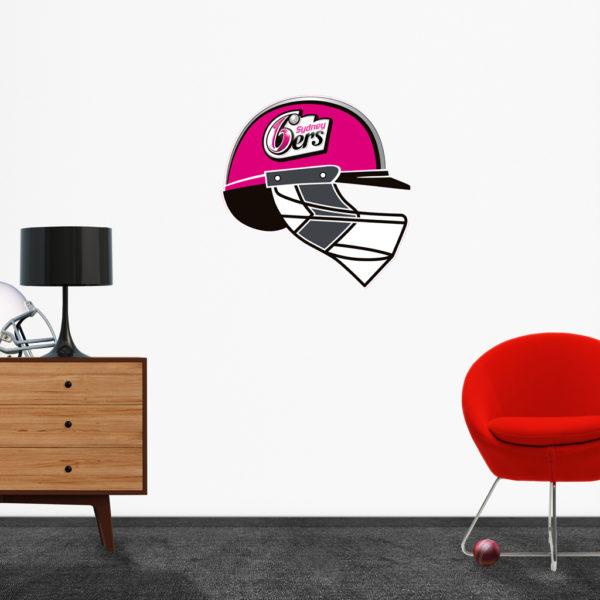 Sydney Sixers Helmet Popout decal