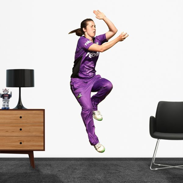 Brooke Hepburn playing in the WBBL for the Hobart Hurricanes Popout decal.