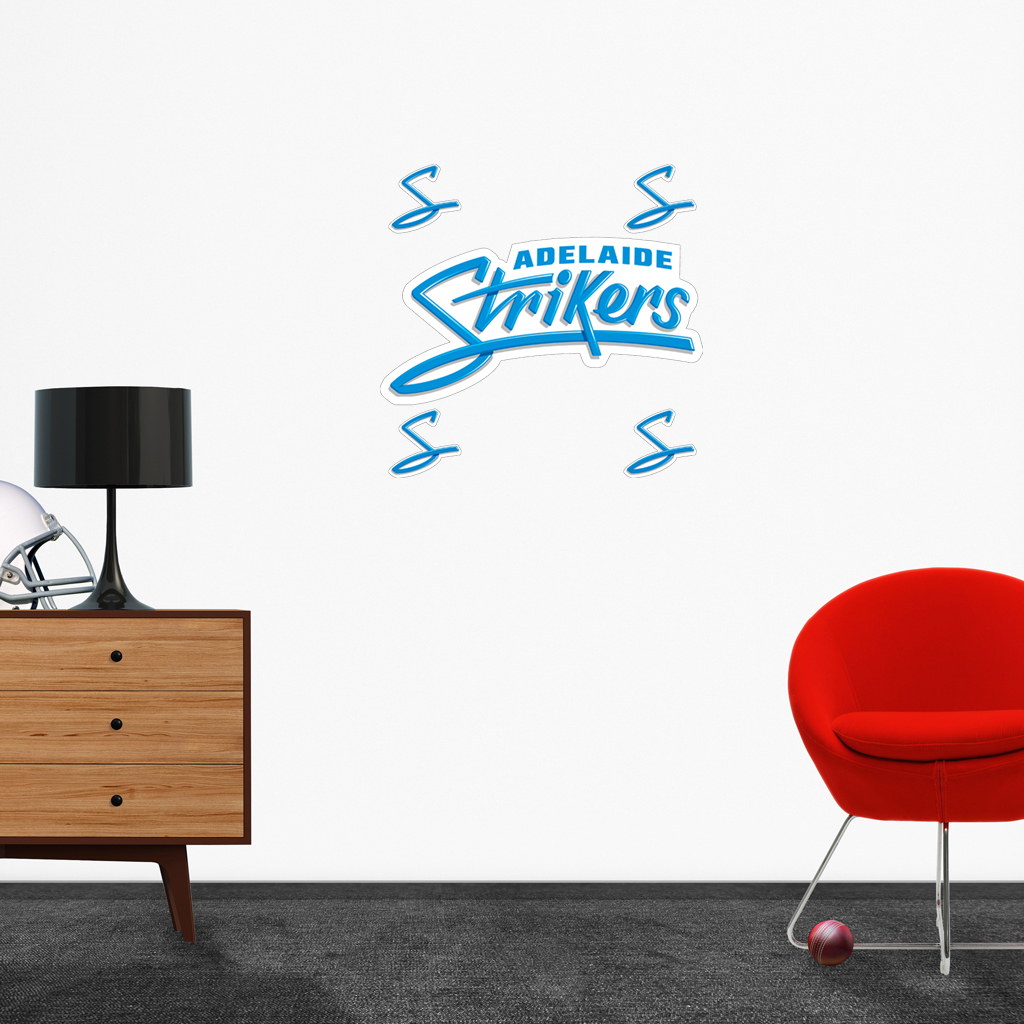 Adelaide Strikers logo removable decals.
