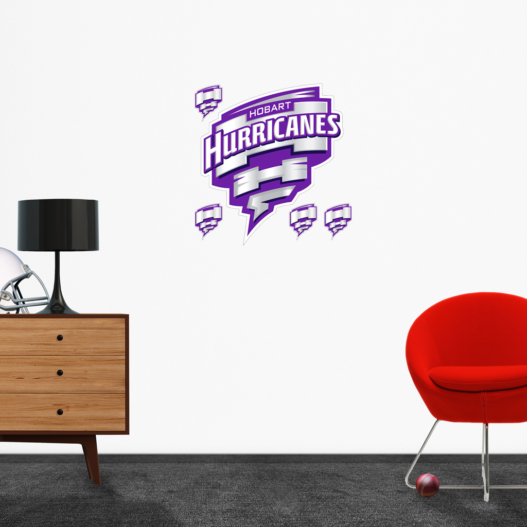 Hobart Hurricanes logo removable decals