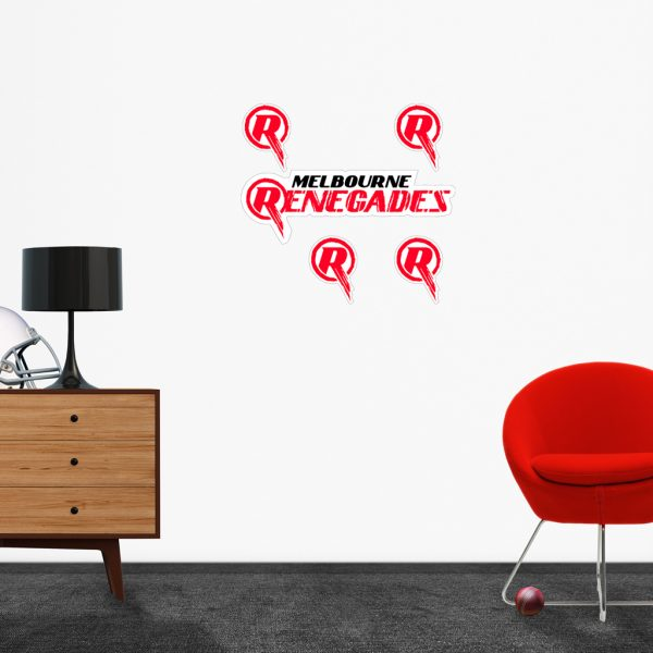 Melbourne Renegades logo removable decals