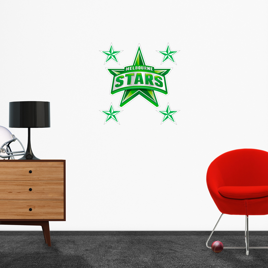 Melbourne Stars logo removable decals