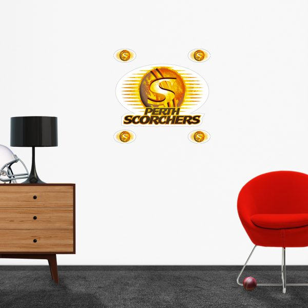 Perth Scorchers logo removable decals