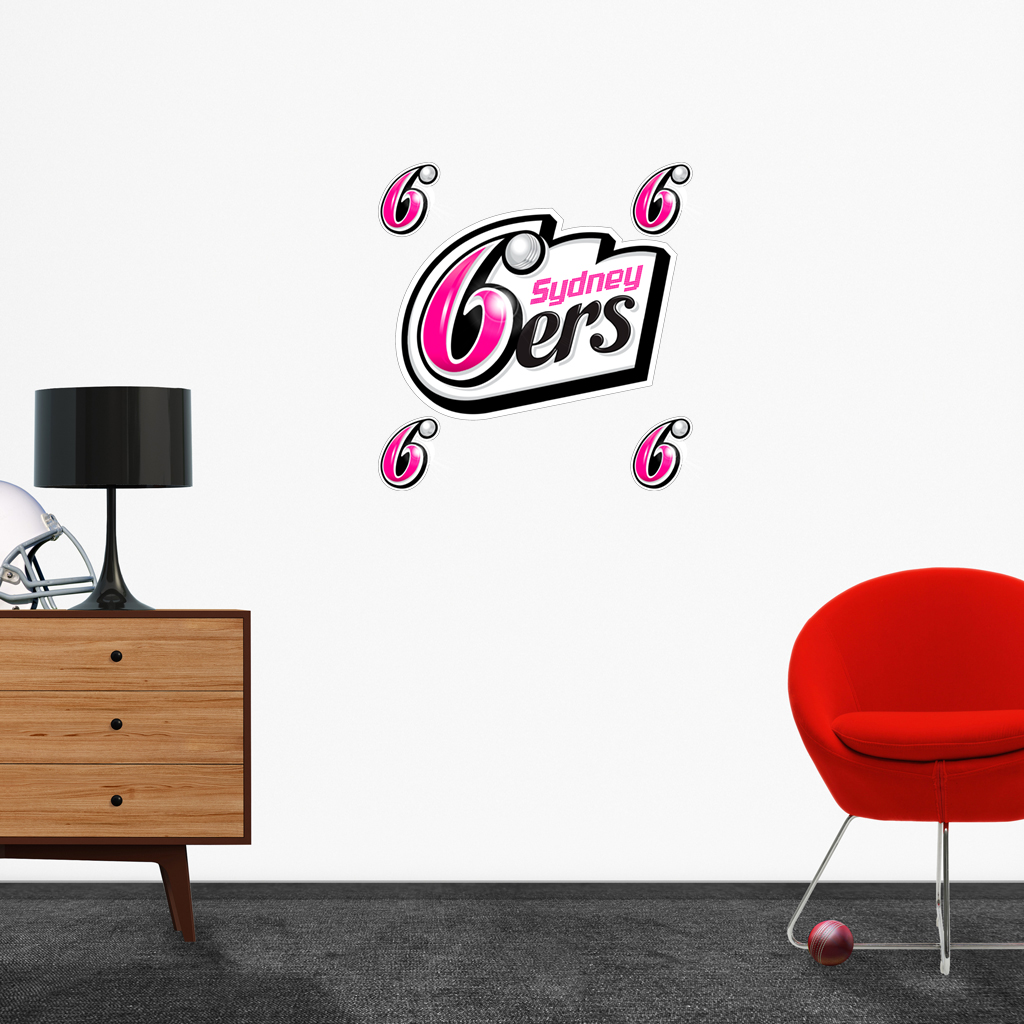 Sydney Sixers logo removable decals