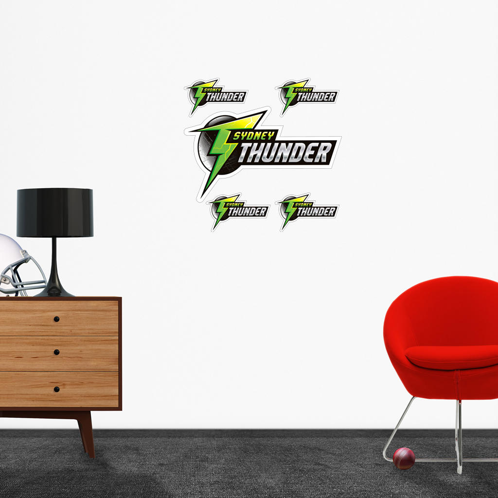 Sydney Thunder logo removable decals