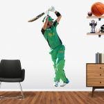 Kevin Pietersen playing in the BBL for the Melbourne Stars Popout decal.