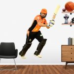 Shaun Marsh playing in the BBL for the Perth Scorchers Popout decal.