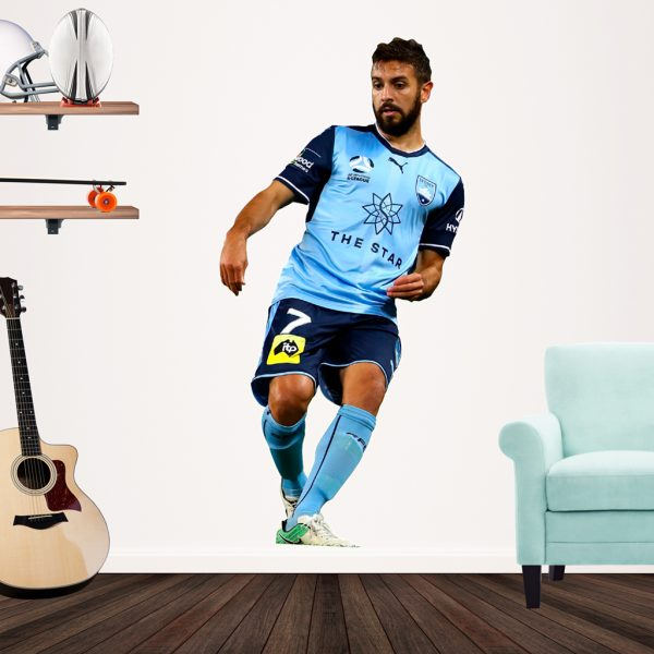 Michael Zullo playing Football for Sydney FC Popout decal.