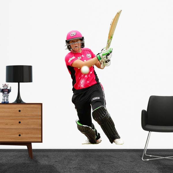 Alyssa Healy, playing in the WBBL for the Sydney Sixers Popout decal.