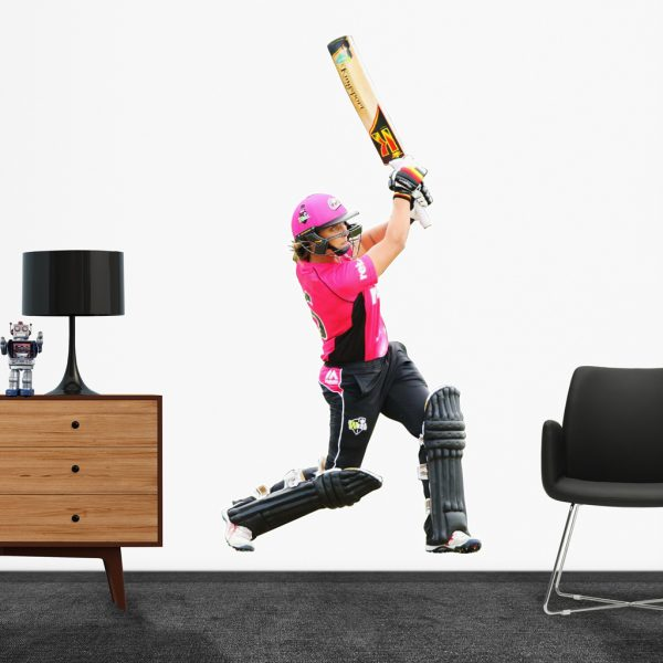 Ashleigh Gardner, playing in the WBBL for the Sydney Sixers Popout decal.