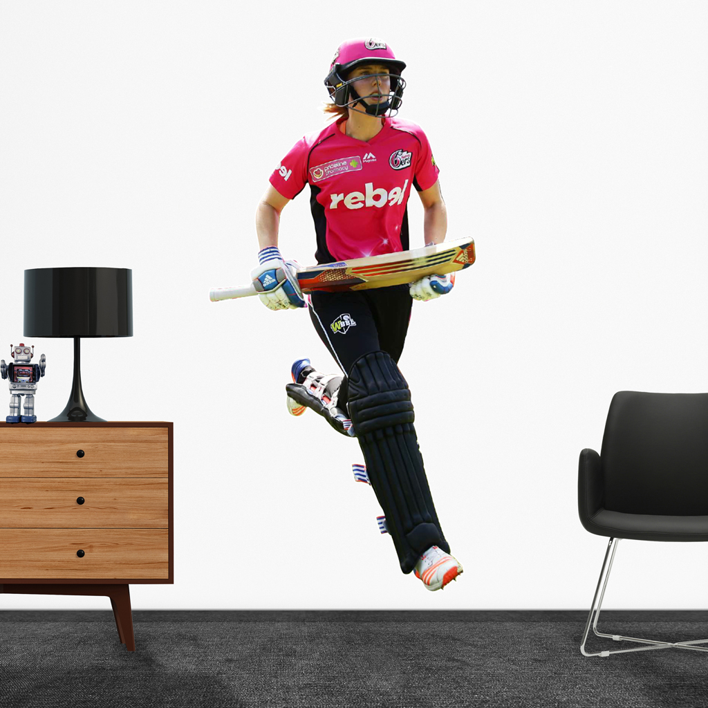 Ellyse Perry, playing in the WBBL for the Sydney Sixers Popout decal.