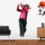 Nic Maddinson playing in the BBL for the Sydney Sixers Popout decal.