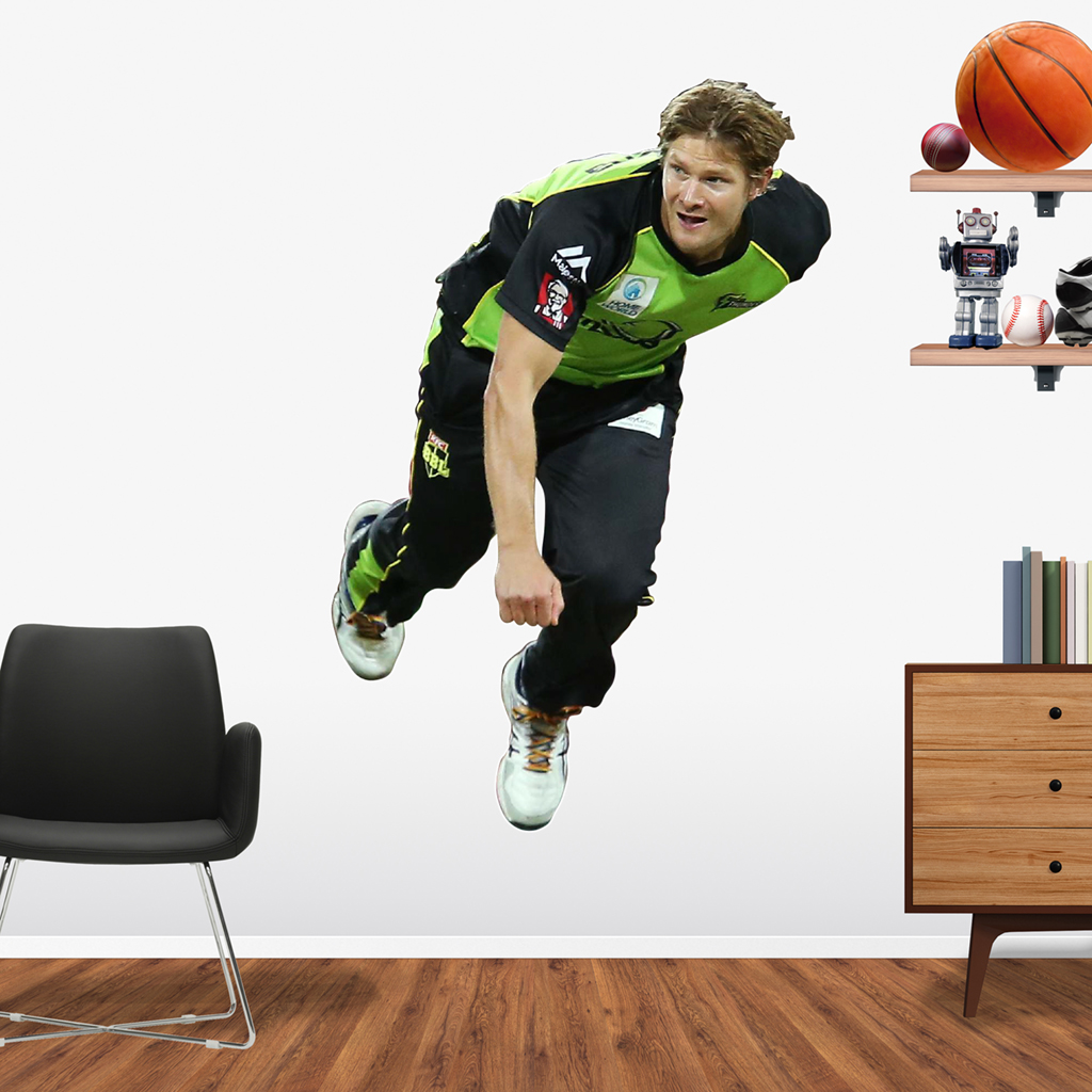 Shane Watson playing in the BBL for the Sydney Thunder Popout decal.