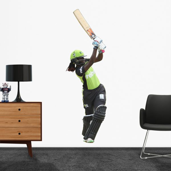 Stafanie Taylorplaying in the WBBL for the Sydney Thunder Popout decal.