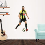 Andrew Durant playing football for the Wellington Phoenix - Popout Decal - medium